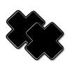 Tapa Mamilo Em X 50 Tons (TO0014 - ST661) - Preto