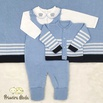 Saída De Maternidade Francisco Azul Bebê