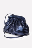 Bolsa Clutch Metalizado Navy Blue