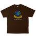 Camiseta High Tee Funky Brown