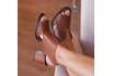 Sandália feminina caramelo- 177-02