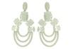 Brinco Zircônia Lesprit LB18381WCL Ródio Cristal