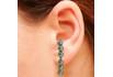 Brinco Ear Hook Metal Lesprit 37604/03 Ródio Negro