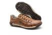 Sapatos Casual Zíper e Elástico Palmilha Ortopédica 148/01 Caramelo