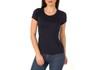 Camiseta Feminina 100% Algodão - Preta