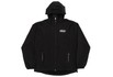 Rain Jacket High Black Refletivo