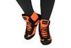 Bota Feminina Fitness Treino ou Academia Laranja Galway 233
