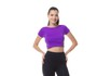 Cropped Larulp Sta Rosa Sleeve - ORACULO(ROXO)