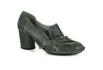 Sapato Em Couro Lolla Alto Oliva J.Gean