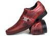 Sapato Social em Couro nobuck pinhão 1075