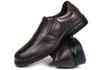 Sapato Social em Couro café 3040