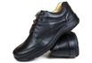 Sapato Social confort em Couro Preto 70049