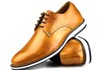 Brogue Premium Couro Comfort Wisky Andora 8004