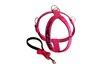 Peitoral Amorosso® Personalizado (pink e preto) + Guia Curta