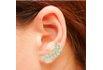 Brinco Ear Cuff Zircônia LB14321WGL Dourado Cristal