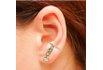Brinco Ear Cuff Zircônia Lesprit LB13511WMORRS Rosé Morganita E Cristal
