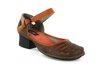 Sapato Em Couro New Kelly Laranja J.Gean