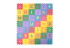 Tapete Tatame Infantil Alfabeto Letras e Números - 42 Peças