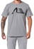 Camiseta Masculina Adaption Cinza