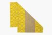 Passadeira bandana amarela