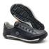 Sapato Masculino Casual Zíper e Elástico Palmilha Ortopédica 148/02 Preto