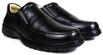 Sapato Casual Conforto Couro Floater Preto 3040
