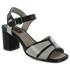 Sandália Em Couro Alta Preta BP0083 J.Gean