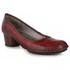 Sapato Em Couro Lolla Baixo Vermelho J.Gean