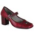 Sapato Galeany Alto em couro Romã J.Gean
