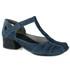 Sapato New Kelly em couro Denin J.Gean
