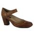 Sapato Ibizza Em Couro Laranja J.Gean