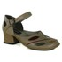 Sapato New Kelly Taupe Em Couro J.Gean