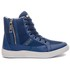 Tênis Cano Alto Masculino Estampado Rock Fit No Doubt Azul