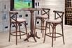 Conjunto Mesa Bistrô Manchester com 3 cadeiras