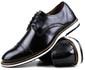 Brogue Premium Couro Comfort Preto Andora 8005