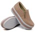 Slip On Zíper Sola Alta Rosê DKShoes