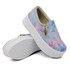 Slip On Zíper Sola Alta Tie Dye DKShoes