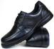 Sapato Social Gallipoli em Couro Preto 3050 - RP/FRC