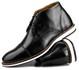 Brogue Premium Couro Comfort Preto Andora 8007