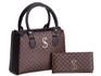 Bolsa Feminina Dubai Selten com Carteira Marrom