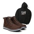 Bota ACT Zip One Café + Moletom Preto