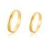 Alianças Diamantada de ouro 10k