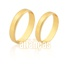 Alianças Em Ouro Amarelo 18k