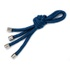 Porta Guardanapo Cordão Náutico Azul