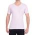 Camiseta Gola V Manga Curta Lilás - Algodão Egípcio