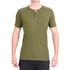 Camisa Raglan Manga Curta Verde - Algodão Egípcio