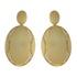 Brinco Zircônia Lesprit LB23551 Dourado Cristal