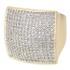 Anel Zircônia Lesprit 00019 RHGL Cristal