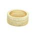 Anel Zircônia Lesprit LA05211 Dourado Cristal