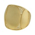 Anel Zircônia Lesprit LA10391 Dourado Cristal
